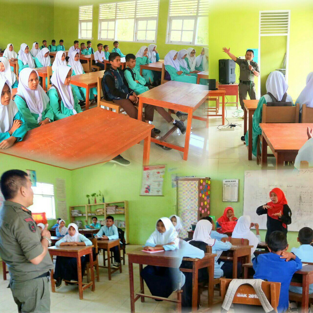 Penyuluhan Miras dan Narkoba Bagi Para Pelajar Di Buluh Kasok Kecamatan Harau